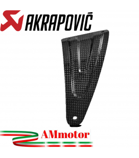 Staffa Akrapovic In Carbonio Per Aprilia Rsv 4 Scarico Slip-On Line Elimina Pedana