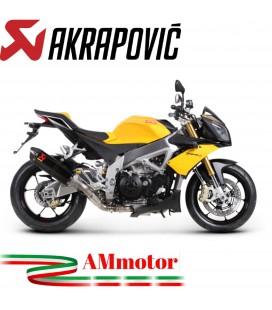 Akrapovic Aprilia Tuono V4 11 2016 Terminale Di Scarico Slip-On Line Carbonio Moto
