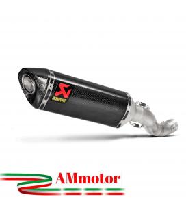 Akrapovic Aprilia Tuono V4 17 2019 Terminale Di Scarico Slip-On Line Carbonio Moto