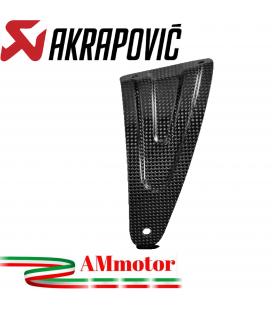 Staffa Akrapovic In Carbonio Per Aprilia Tuono V4 Scarico Slip-On Line Elimina Pedana