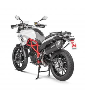Akrapovic Bmw F 700 Gs Terminale Di Scarico Slip-On Line Titanio Black Moto Omologato