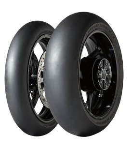Gp Racer D212 Slick 120/70 + 190/55ZR17 Coppia Pneumatici In Mescola