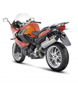 Akrapovic Bmw F 800 Gt Terminale Di Scarico Slip-On Line Titanio Moto Omologato