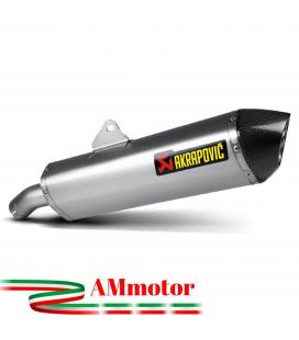 Akrapovic Bmw F 800 R Terminale Di Scarico Slip-On Line Titanio Moto Omologato