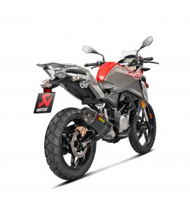 Akrapovic Bmw G 310 Gs Impianto Di Scarico Completo Racing Line Terminale Carbonio Moto