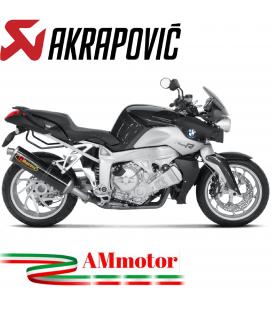 Akrapovic Bmw K 1200 R Terminale Di Scarico Slip-On Line Carbonio Moto Omologato
