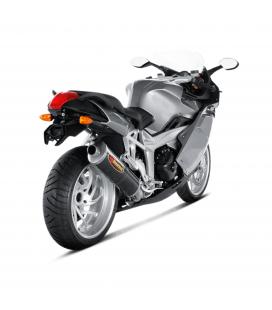Akrapovic Bmw K 1200 S Terminale Di Scarico Slip-On Line Carbonio Moto Omologato