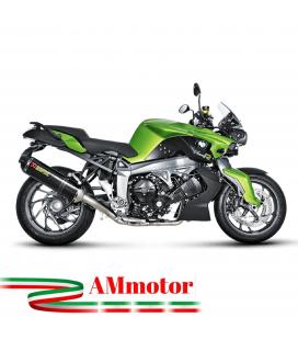 Akrapovic Bmw K 1300 R Impianto Di Scarico Completo Racing Line Terminale Carbonio Moto