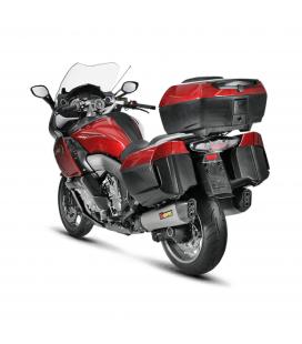 Akrapovic Bmw K 1600 Gt / Gtl Terminali Di Scarico Slip-On Line Titanio Moto Omologato
