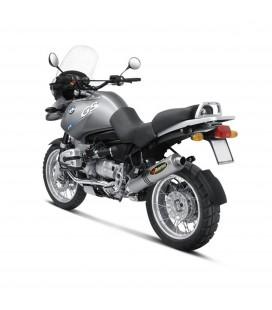 Akrapovic Bmw R 1150 Gs Terminale Di Scarico Slip-On Line Titanio Moto Omologato