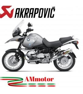 Akrapovic Bmw R 1150 Gs Adventure Terminale Di Scarico Slip-On Line Titanio Moto Omologato