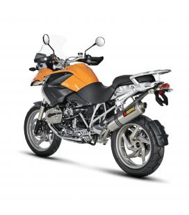 Akrapovic Bmw R 1200 Gs 04 2009 Terminale Di Scarico Slip-On Line Titanio Moto Omologato