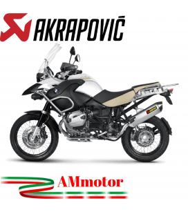Akrapovic Bmw R 1200 Gs 10 2012 Terminale Di Scarico Slip-On Line Titanio Moto Omologato