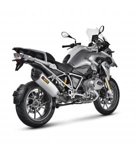 Akrapovic Bmw R 1200 Gs 13 2016 Terminale Di Scarico Slip-On Line Titanio Moto Omologato