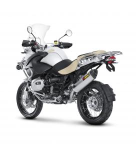 Akrapovic Bmw R 1200 Gs Adventure 10 2013 Terminale Di Scarico Slip-On Line Titanio Moto Omologato