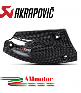 Paracalore Akrapovic In Fibra Di Carbonio Per Bmw R 1200 Gs Adventure Moto