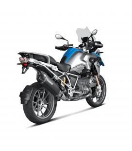 Akrapovic Bmw R 1200 Gs Adventure 14 2016 Terminale Di Scarico Slip-On Line Titanio Black Moto Omologato