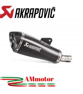 Akrapovic Bmw R 1200 R Terminale Di Scarico Slip-On Line Titanio Black Moto Omologato