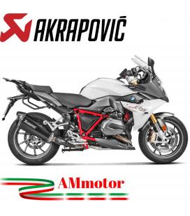 Akrapovic Bmw R 1200 Rs Terminale Di Scarico Slip-On Line Titanio Black Moto Omologato