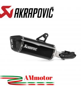 Akrapovic Bmw R 1250 Gs Terminale Di Scarico Slip-On Line Titanio Black Moto Omologato