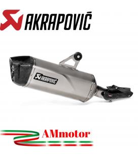 Akrapovic Bmw R 1250 Gs Terminale Di Scarico Slip-On Line Titanio Moto Omologato