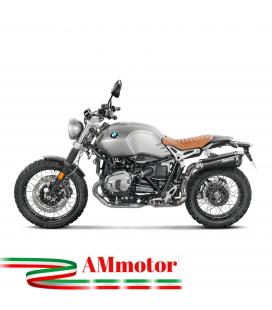 Akrapovic Bmw R NineT 14 2019 Terminale Di Scarico Slip-On Line Titanio Black Moto Omologato
