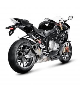 Akrapovic Bmw S 1000 RR 10 2014 Terminale Di Scarico Slip-On Line Titanio Moto Omologato