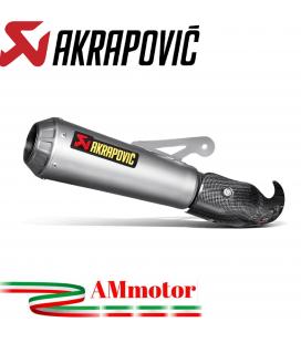 Akrapovic Bmw S 1000 RR 10 2014 Terminale Di Scarico Slip-On Line Gp Titanio Moto Omologato
