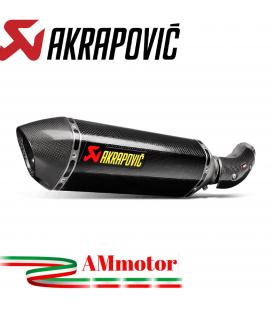 Akrapovic Bmw S 1000 RR 15 2016 Terminale Di Scarico Slip-On Line Carbonio Moto Omologato