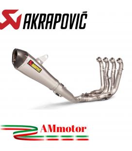 Akrapovic Bmw S 1000 RR 15 2018 Impianto Di Scarico Completo Racing Line Terminale Titanio Moto