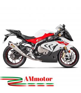 Akrapovic Bmw S 1000 RR 15 2018 Impianto Di Scarico Completo Evolution Line Terminale Collettori Full Titanio Moto