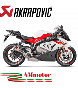 Akrapovic Bmw S 1000 RR 17 2018 Terminale Di Scarico Slip-On Line Titanio Moto