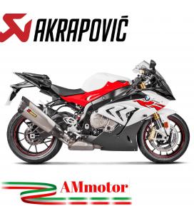 Akrapovic Bmw S 1000 RR 17 2018 Terminale Di Scarico Slip-On Line Titanio Moto Omologato