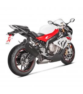 Akrapovic Bmw S 1000 RR 17 2018 Terminale Di Scarico Slip-On Line Titanio Black Moto Omologato
