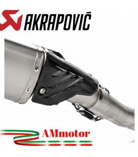 Paracalore Akrapovic In Fibra Di Carbonio Per Bmw S 1000 RR Moto