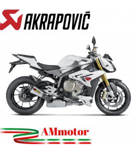 Akrapovic Bmw S 1000 R 14 2016 Terminale Di Scarico Slip-On Line Titanio Moto Omologato