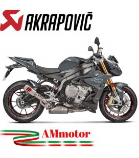 Akrapovic Bmw S 1000 R 17 2020 Terminale Di Scarico Slip-On Line Gp Titanio Moto