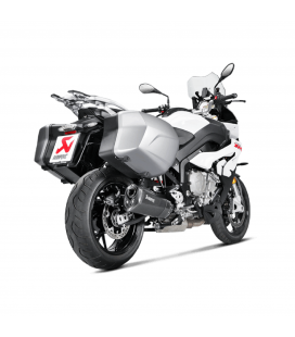 Akrapovic Bmw S 1000 XR Terminale Di Scarico Slip-On Line Titanio Black Moto Omologato Euro 4
