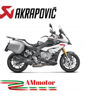 Akrapovic Bmw S 1000 XR 15 2019 Terminale Di Scarico Slip-On Line Titanio Black Moto Omologato Euro 4