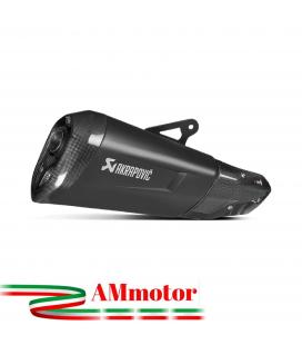 Akrapovic Bmw S 1000 XR 15 2016 Terminale Di Scarico Slip-On Line Titanio Black Moto Omologato