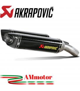 Akrapovic Ducati 1098 S Terminali Di Scarico Slip-On Line Carbonio Moto