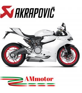 Akrapovic Ducati 899 Panigale Impianto Di Scarico Completo Evolution Line Terminale Collettori Full Titanio Moto