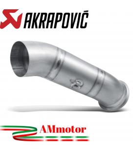 Collettore Akrapovic Per Scarico Ducati Hypermotard 821 Moto Titanio Non Omologato