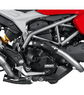 Paracalore Akrapovic In Fibra Di Carbonio Per Ducati Hypermotard 821 Moto