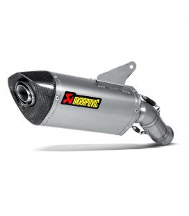 Akrapovic Ducati Hyperstrada 939 Terminale Di Scarico Slip-On Line Titanio Moto