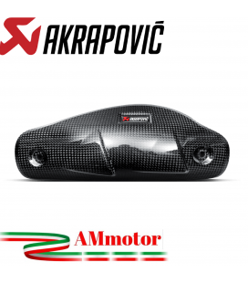 Paracalore Akrapovic In Fibra Di Carbonio Per Ducati Hyperstrada 939 Moto
