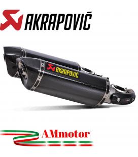 Akrapovic Ducati Monster 1100 / S Terminali Di Scarico Slip-On Line Carbonio Moto