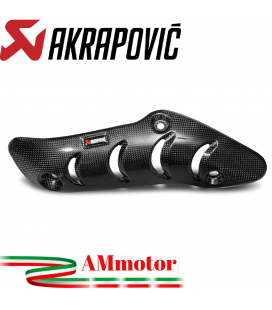 Paracalore Akrapovic In Fibra Di Carbonio Per Ducati Monster 1200 / S Moto