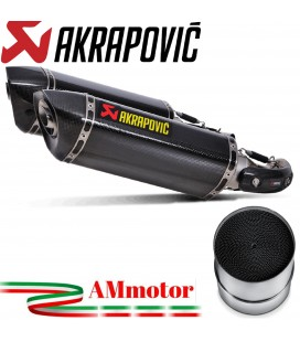 Akrapovic Ducati Monster 696 Terminali Di Scarico Slip-On Line Carbonio Moto