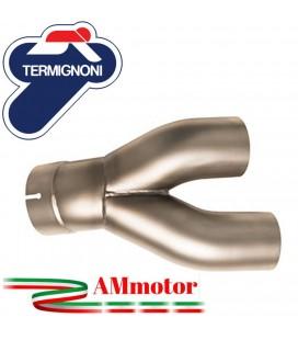 Terminali Di Scarico Con Raccordo Basso Termignoni Bmw R NineT Marmitta Conical Moto